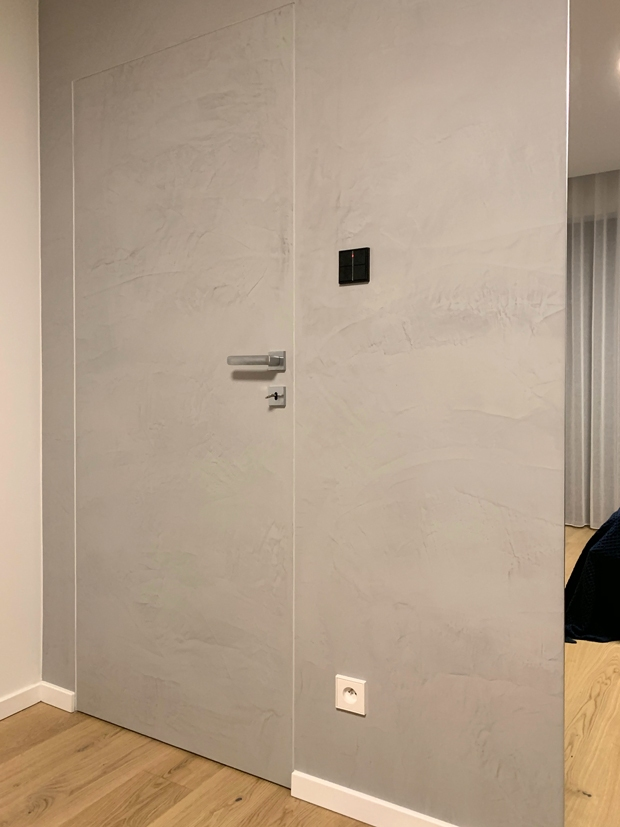 drzwi z mikrocementu